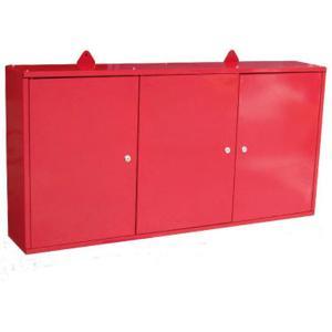 ウォールキャビネット 赤 ツールキャビネット 壁掛け工具棚 壁掛け工具箱|manten-tool