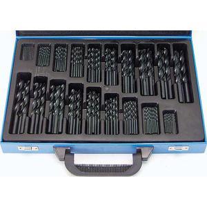 HSS鉄工ドリル170pcs 鉄工ドリルビット 鉄工用ドリルセット 電動工具ドリル|manten-tool
