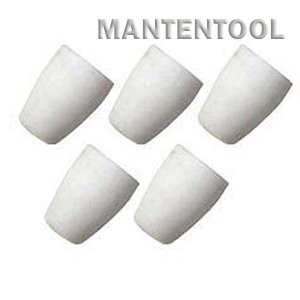 CUT40プラズマカッター用セラミックカップ 5個 切断機消耗品 切断機用品 切断機部品 manten-tool
