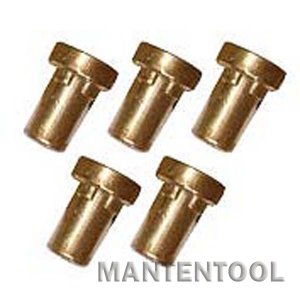 CUT40プラズマカッター用チップ 5個 切断機消耗品 切断機用品 切断機部品 manten-tool