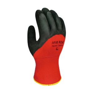 ナックルスベラン M 5双 天然ゴム防寒手袋 10ゲージ厚手使用 作業用手袋|manten-tool