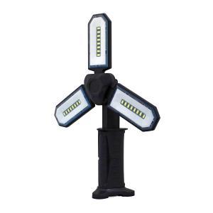三つ葉作業灯 WL-05 光源COBLEDチップ4W×3個 明るさ最大800lm 防水IPX4|manten-tool