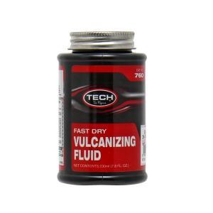 TECH 強力加硫セメント760 235ml スペアラバーセメント タイヤリペアキット パンク修理剤|manten-tool