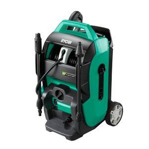 高圧洗浄機 RYOBI AJP-4210GQ 自吸式6.5リットル/min 業務用高圧ホース15m付属 静音タイプ manten-tool