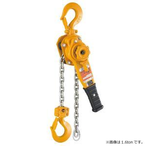 キトー レバーブロック L5形 1.6ton レバーホイスト 定格荷重1600kg チェーンホイスト|manten-tool
