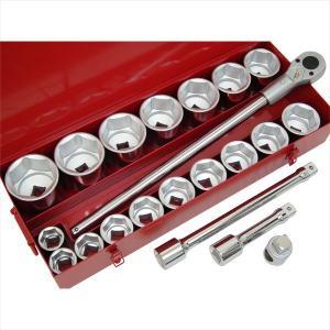 25.4mm(1)ラチェットレンチセット ハンドツールセット 工具セット 25.4sqラチェットレンチソケット|manten-tool