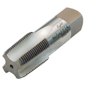 パイプタップ PT テーパー 1/2×14 配管用ハンドタップ 水道ガス管タップ パイプねじ加工修正|manten-tool