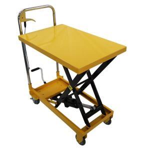 リフトテーブル150kg 油圧昇降台車 ハンドテーブルリフター リフティングテーブル|manten-tool