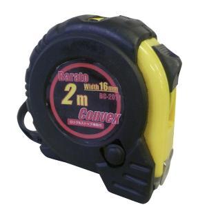ストップ付メジャー 2m×16幅 スケールコンベックス 巻尺 メジャー工具|manten-tool