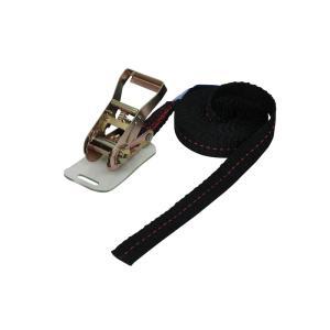 ラッシングベルト黒 エンドレス0.8ton 幅25mm 長さ4m ベルト荷締め機 タイダウンベルト 荷締めベルト|manten-tool
