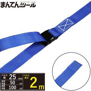 荷締めベルト エンドレス50kg 幅25mm×長さ2m ラッシングベルト ラウンドタイプ 結束ベルト|manten-tool