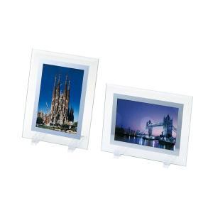 ● ガラスフォトフレームL フラットタイプの商品画像