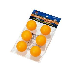 ● 卓球ボール6個入オレンジ 40mm 100円均一 100均一 100均 ☆