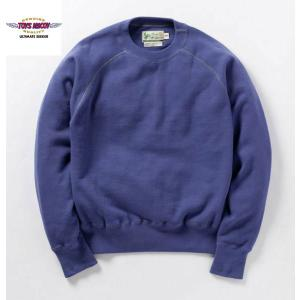 TOYS McCOY TMC1459 S.McQUEEN SWEAT LONG SLV BLUE  TMC 1459 トイズマッコイ スティーブマックイーン|manufactures-japan