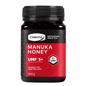 マヌカハニーUMF5+(500g) manuka honey 大容量 非加熱 天然マヌカハニー100% 送料無料