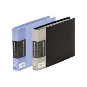 クリアーファイルカラーベースW B6サイズヨコ 40ポケット 110CW ネコポス便不可 キングジム