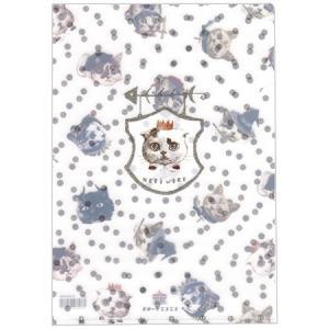 A5クリアファイル NEKO WORK2 1ポケット ST-CFA5-005 猫柄 とことこサーカス...