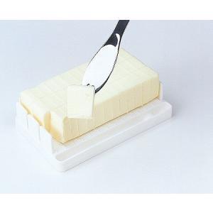 定量カッティングガイド付バターケース manzoku-tonya
