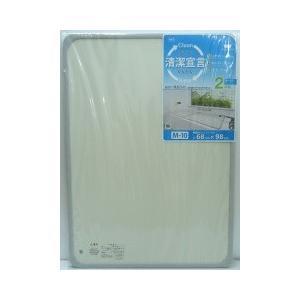 組合せ風呂ふた 浴槽対応サイズ70×100cm M-10 2枚組 manzoku-tonya