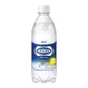 〔まとめ買い〕アサヒ ウィルキンソン タンサン レモン ペットボトル 500ml×24本(1ケース)