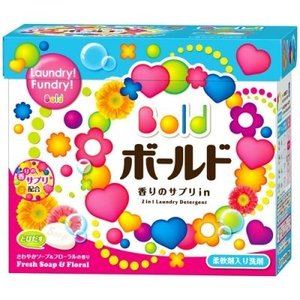 P&G(プロクター・アンド・ギャンブル) ボールド 洗濯洗剤 粉末 ピュアクリーンサボンの香り 85...