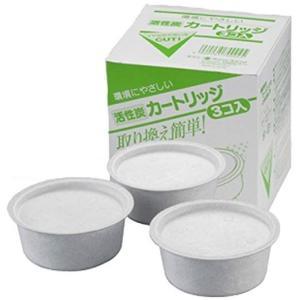 オダジマ 琺瑯ホーロー オイルポット用活性炭カートリッジ(3個入り) OILPOT-K3P (8903am)|manzoku-tonya