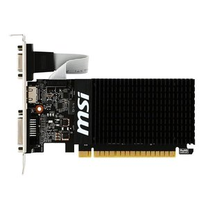 MSI NVIDIA GeForce GT710搭載 GDDR3 1GB グラフィックスボード VD5932 GT710 1GD3H LP