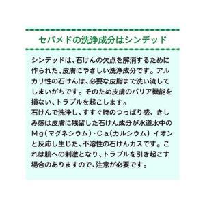セバメド ウォッシングバー 100g ロート製薬|manzoku-tonya|06