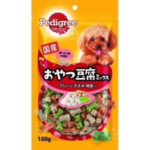 ペディグリースナック おやつ豆腐ミックス プレーン ささみ 枝豆入り 100g