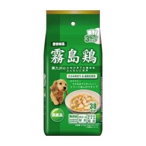 愛情物語 霧島鶏 ささみ角り&緑黄色野菜  70g 3パック