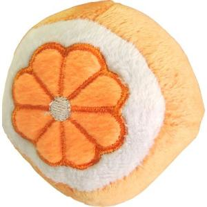 ペッツルート まんまるフルーツ オレンジ  犬 おもちゃ ぬいぐるみ