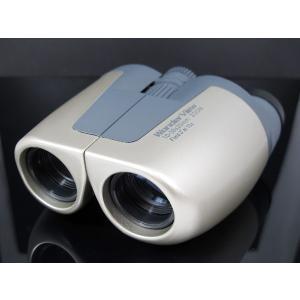 ベジタブル VEGETABLE GD WONDER VIEW 双眼鏡 倍率10倍〜30倍 ホワイト|manzoku-tonya