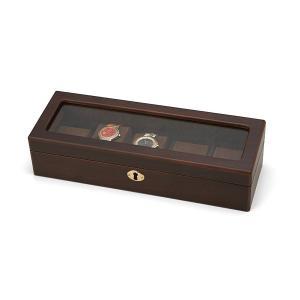 木製ウォッチケース WOODEN WATCH CASE (5本用) 856-120|manzoku-tonya
