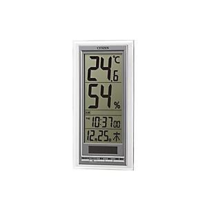 シチズン ライフナビD204A 高精度 温度計 湿度計 8RD204-A19|manzoku-tonya