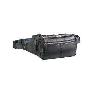 ハミルトン HAMILTON ウエストバッグ メンズ 25842 ブラック ブラック|manzoku-tonya