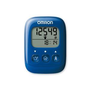 オムロン OMRON 歩数計 HJ325-B 4975479409363 ブルー ブルー|manzoku-tonya