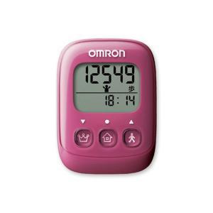 オムロン OMRON 歩数計 HJ325-PK 4975479409370 ピンク ピンク|manzoku-tonya