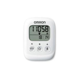 オムロン OMRON 歩数計 HJ325-W 4975479409349 ホワイト ホワイト|manzoku-tonya