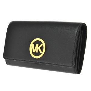 マイケルコース MICHAEL KORS 長財布 レディース 32F2GFTE3L-001 ブラック|manzoku-tonya