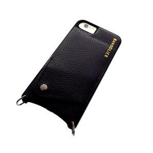 BANDOLIER バンドリヤー スマホケース iPhone6/6S/7/8対応 CASE  レディース 10LCY1001-BLKPEW ルーシー LUCY ピューター ブラック ブラックピューター manzoku-tonya
