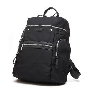 ヴァンキッシュ VANQUISH デザインジップ ナイロンリュック メンズ VQM-41500BK ブラック ブラック|manzoku-tonya