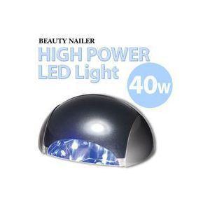 ネイルケア用品 40W ハイパワーLEDライト 【405ナノメートル対応LEDジェル専用】 maone