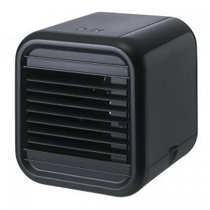 冷風扇 卓上 小型 デスクファン 扇風機 おしゃれ ボックス型 デスクトップ冷風扇 ブラック|maone