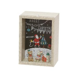 オーナメント クリスマス 雑貨 かわいい セルバ クリスマスボックス A|maone