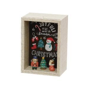 オーナメント クリスマス 雑貨 かわいい セルバ クリスマスボックス B|maone