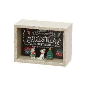 オーナメント クリスマス 雑貨 かわいい セルバ クリスマスボックス C|maone