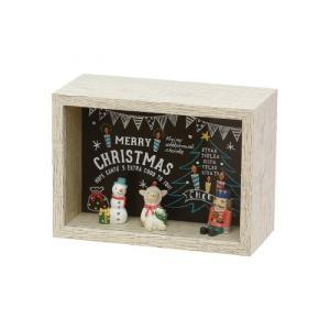オーナメント クリスマス 雑貨 かわいい セルバ クリスマスボックス D|maone