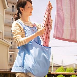 洗濯物 カゴ カンガルーランドリーエプロン|maone