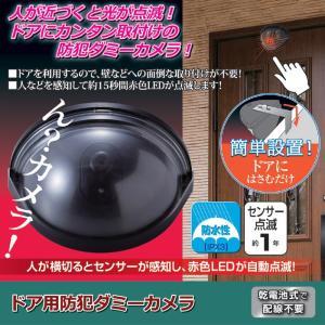 防犯 玄関 ドア用防犯ダミーカメラ|maone