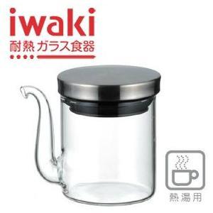 醤油さし 液だれしない パイレックス iwaki イワキ クラフトライン しょうゆ差し 60ml 5021-SV/醤油差し|maple517